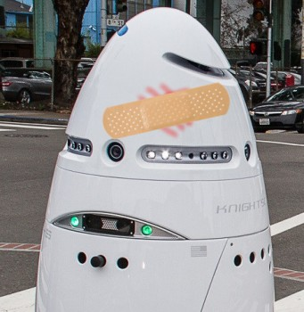 Drunk Man Assaults Security Robot in Silicon Valley