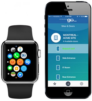 Tyco Security Brings Access Control to Apple Watch