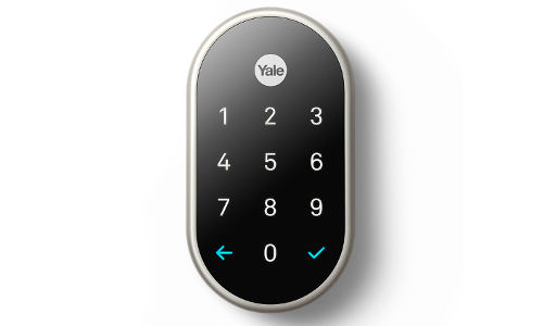 Yale Unveils Lock Designed for Nest Home Security System