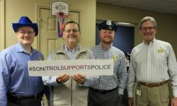 Sonitrol Shows Support for Law Enforcement Appreciation Day