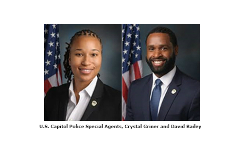 U.S. Capitol Special Agents Receive John J. Duffy Memorial Award