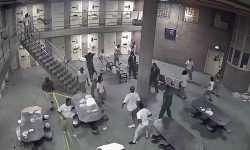 Top 9 Surveillance Videos of the Week: Massive Jailhouse Brawl Breaks Out
