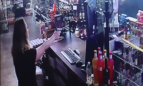 Top 9 Surveillance Videos of the Week: A Harrowing Liquor Store Shootout