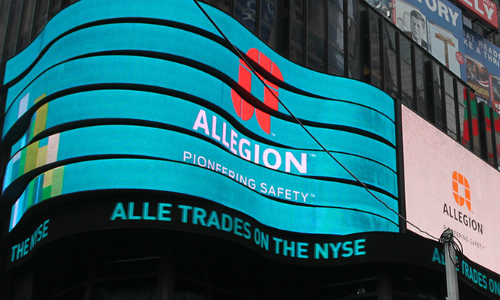 Read: Allegion Reports Q1 Financial Results; Revenues Surpass Estimates