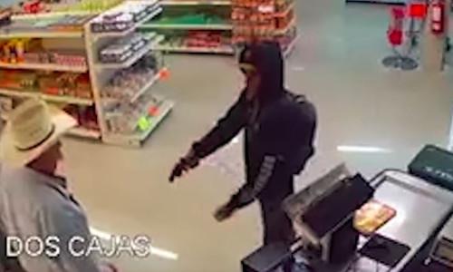 Top 9 Surveillance Videos of the Week: Elderly Cowboy Wrangles Armed Robber