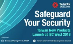 Read: World's First Security Solutions from Taiwan to Launch at ISC West