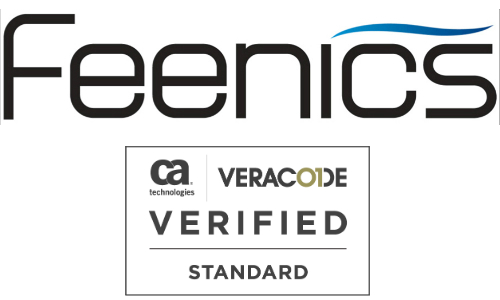Feenics Achieves 'Verified by Veracode' Assurance Program Seal