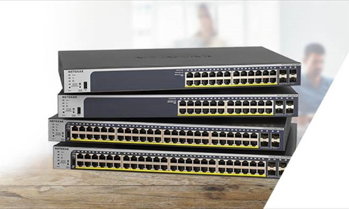 Netgear Launches New Smart Managed Pro Switches for Converged Networks