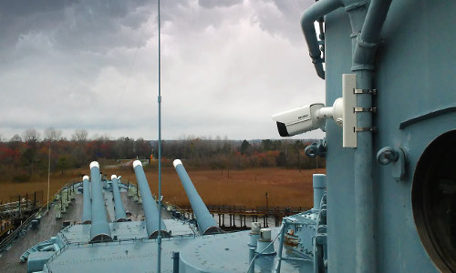 Hikvision Surveillance System Upgrade Brings WWII Battleship Into 21st Century