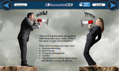 SecurityCEU.com, Matterhorn Consulting to Host Communications Skills Series