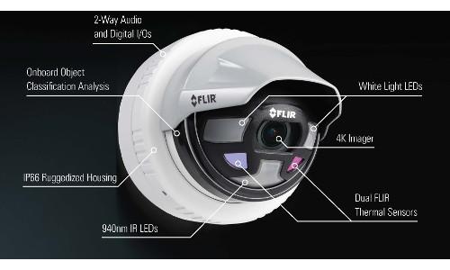 FLIR Saros Camera Combines 4K, Thermal Imaging, Onboard Analytics & More
