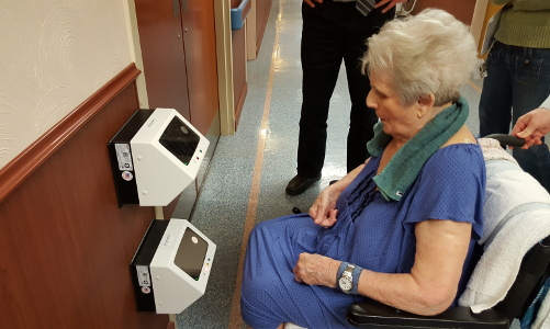 Eldercare Facility Gains Recognition for Implementing Biometric Technology