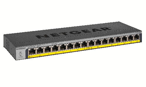 Netgear Releases Unmanaged Network Switch With Built-In Power Selector