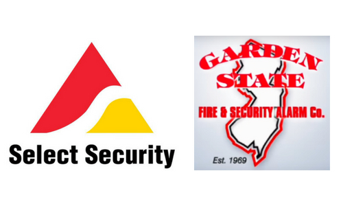 Select Security Expands in New Jersey With Garden State Fire & Security Buy