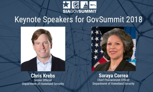 SIA GovSummit 2018 to Include Keynotes by DHS Senior Officials