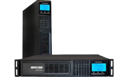 Minuteman PRO-RT Series UPS Billed as 'Electrical Firewall'