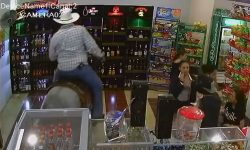 Top 9 Surveillance Videos of the Week: Drunk Man Rides Horse Into Liquor Store
