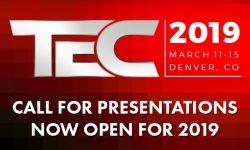 Read: PSA TEC Puts Out Call for 2019 Presentations