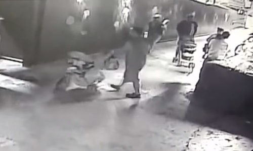 Top 9 Surveillance Videos of the Week: Thieves Steal Shark by Disguising It as Baby