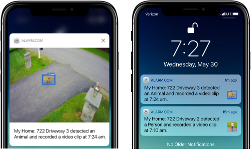 Alarm.com Video Analytics Service Integrates With Existing Cameras