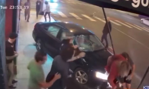 Top 9 Surveillance Videos of the Week: Car Plows Through Crowd at Whisky A Go Go