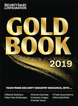 Security Sales and Integration Gold Book 2019
