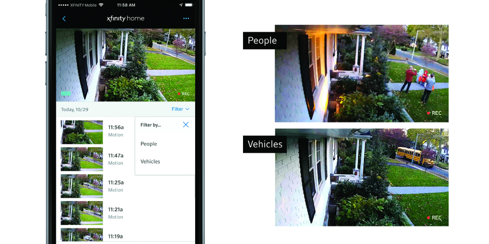 Comcast Releases Security Camera Features to Spot Doorstep Thieves