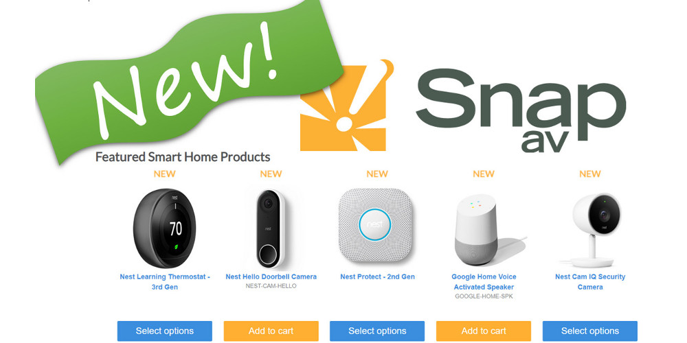 Remarkable Google Smart Home Nest Pro Products Now Sold By Snapav Download Free Architecture Designs Scobabritishbridgeorg
