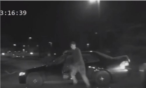 Top 9 Surveillance Videos of the Week: Car Thief Gets Run Over by Own Car