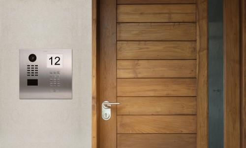 DoorBird Releases New IP Video Door Intercom With Info Panel