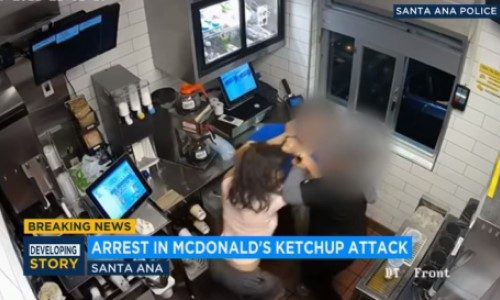 Top 9 Surveillance Videos of the Week: Woman Attacks McDonald's Manager Over Ketchup
