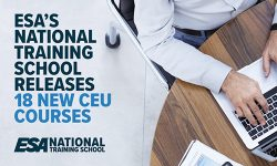 Read: ESA's National Training School Releases 18 New CEU Courses: New Courses Cover Networking, Mathematics, Science, Project Management, Customer Service