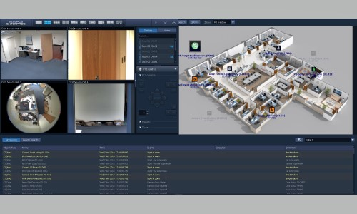 ISS' VMS Now Integrates Tyco's Kantech EntraPass Access Control Software