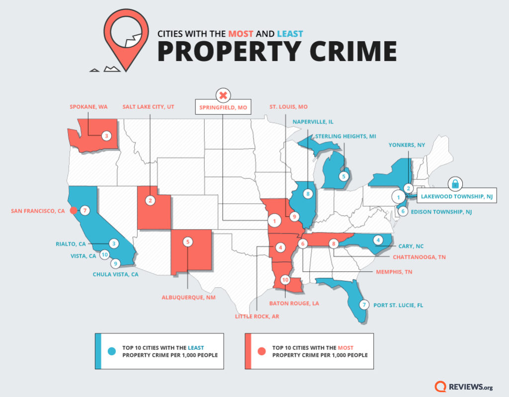property crime map