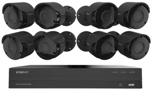 Hanwha Techwin Unveils 4K Ultra HD DVR Security Systems at CES 2019