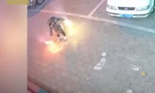 Top 9 Surveillance Videos of the Week: Child Blows Up Sidewalk With Fireworks