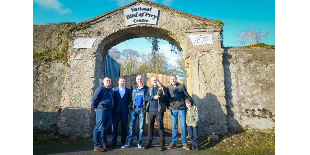 Anixter Teams With Partners to Secure Bird of Prey Sanctuary in Ireland