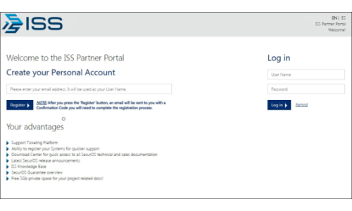 ISS Launches Partner Portal to Facilitate Business Activities and Operations