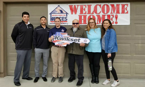 Kwikset Marks 5th Year Supporting Building Homes for Heroes