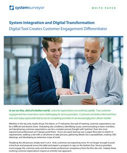 System Integration and Digital Transformation: Digital Tool Creates Customer Engagement Differentiator