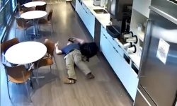 Top 9 Surveillance Videos of the Week: Man Fakes Fall to Scam Insurance Company
