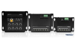 TRENDnet Debuts Industrial Railway and Front Access Switches