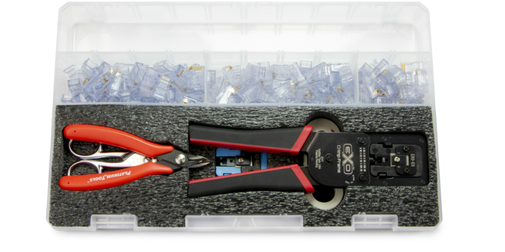 Platinum Tools to Highlight New EXO Termination Kits at ISC West