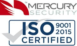 Mercury Awarded ISO 9001:2015 Certification for Quality Management System