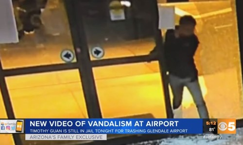 Top 9 Surveillance Videos of the Week: Man Destroys Empty Airport