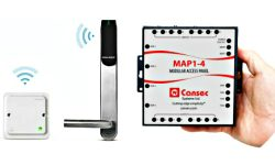 Aperio Wireless Technology Integrated With Cansec MAP1-Based Access Control Systems