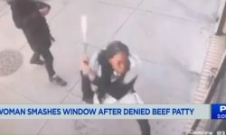 Top 9 Surveillance Videos of the Week: Woman Smashes Windows Over Beef Patties