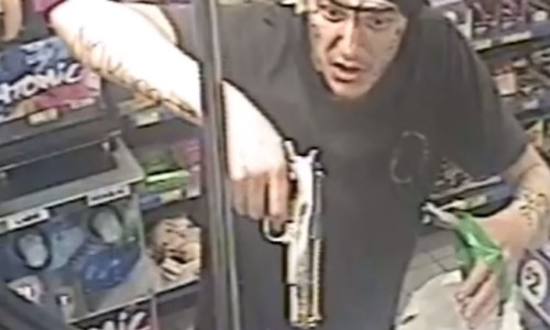 Top 9 Surveillance Videos of the Week: Robber With a Hand-Drawn Disguise