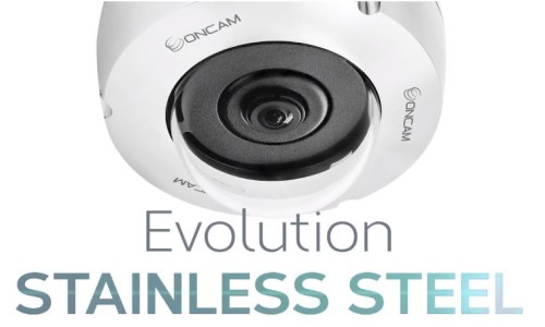OnCam Updates Evolution Stainless Steel Camera Line