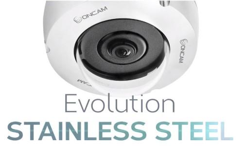 OnCam Updates Evolution Stainless Steel Camera Line